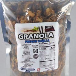 Zero Sugar Granola – French Vanilla
